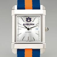 Auburn Men's Collegiate Watch w/ NATO Strap