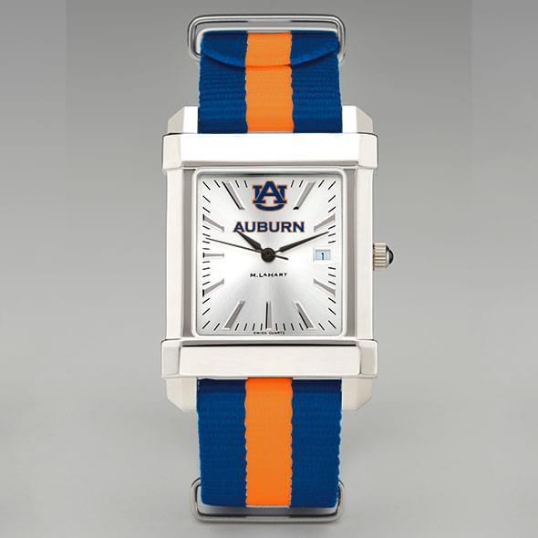 Auburn Men's Collegiate Watch w/ NATO Strap
