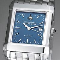 Notre Dame Men's Blue Quad Watch with Bracelet