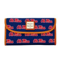 Ole Miss Dooney & Bourke Continental Clutch