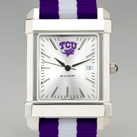 Texas Christian University Men's Collegiate Watch w/ NATO Strap