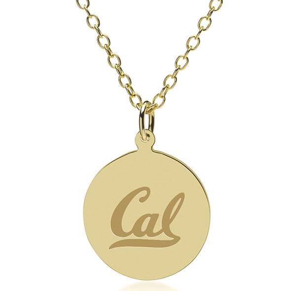 Berkeley 14K Gold Pendant & Chain