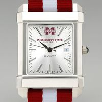Mississippi State Men's Collegiate Watch w/ NATO Strap