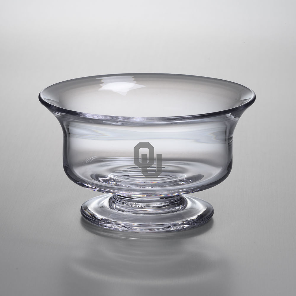 Oklahoma Medium Glass Presentation Bowl by Simon Pearce