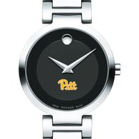 Pitt Women's Movado Museum with Steel Bracelet