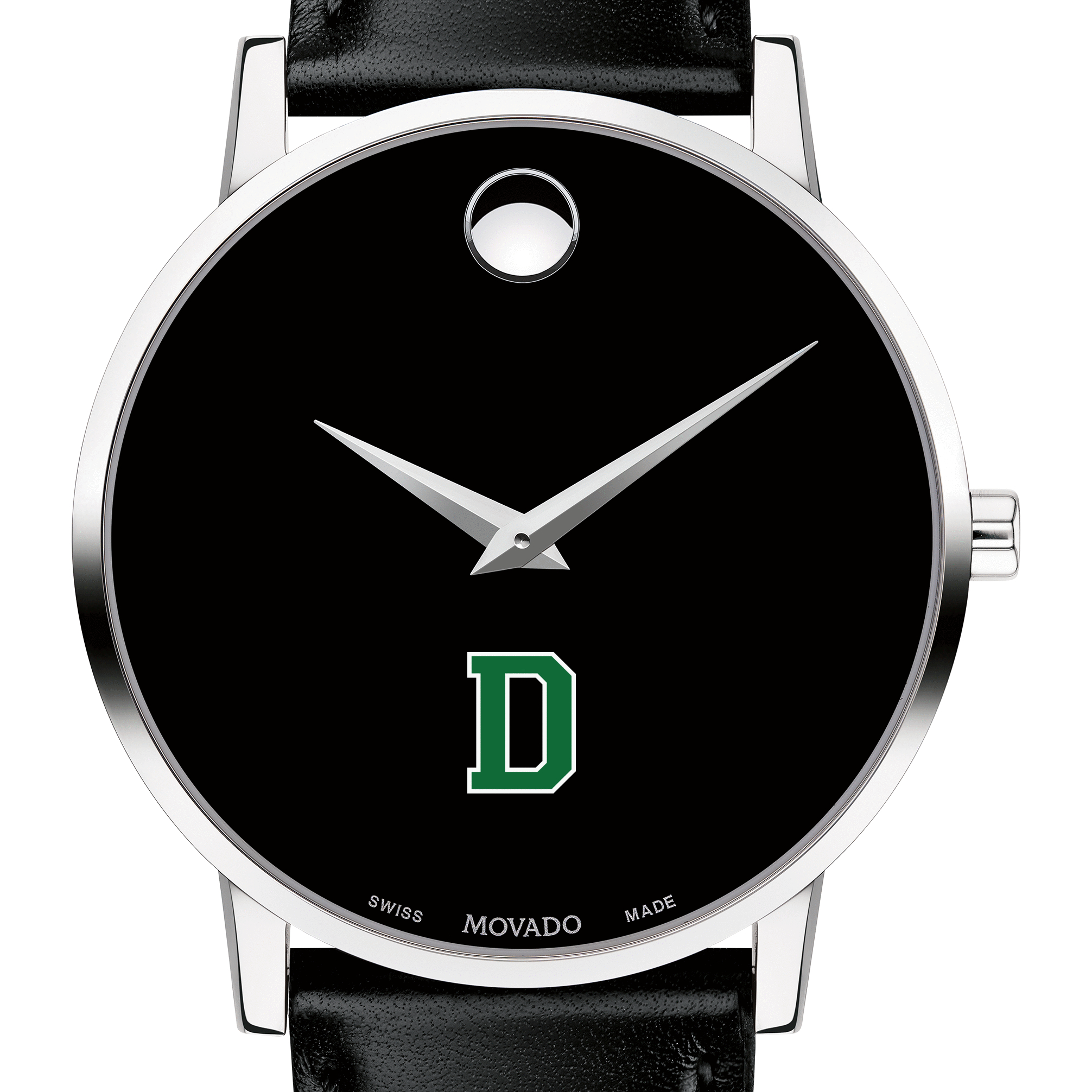 Dartmouth Men's Movado Museum with Leather Strap