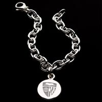 Johns Hopkins Sterling Silver Charm Bracelet
