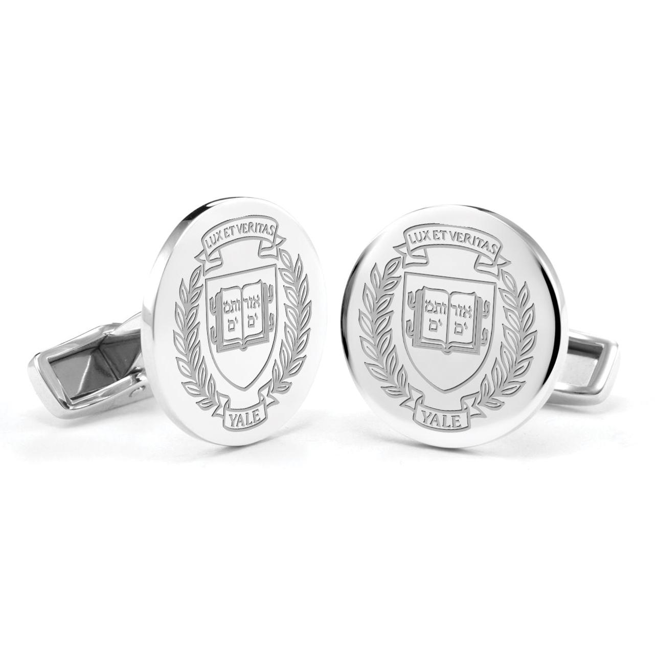 Yale Sterling Silver Cufflinks