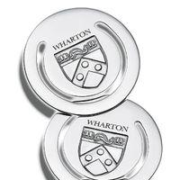 Wharton Sterling Silver Bookmark