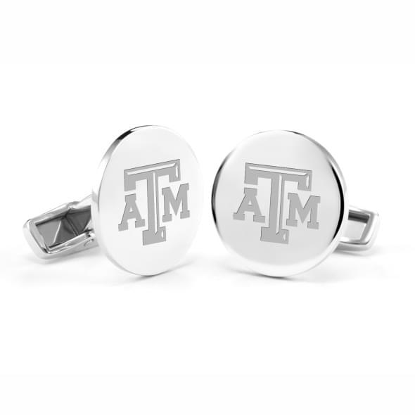 Texas A&M Sterling Silver Cufflinks