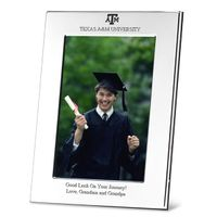 Texas A&M Polished Pewter 4x6 Picture Frame