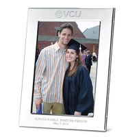 VCU Polished Pewter 5x7 Picture Frame