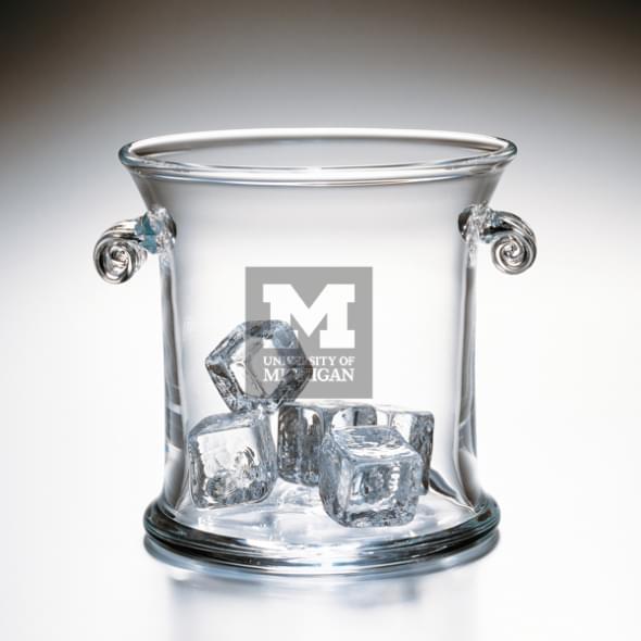 Michigan Glass Ice Bucket by Simon Pearce