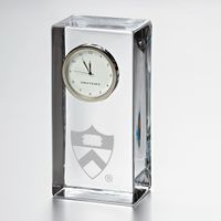 Princeton Tall Desk Clock by Simon Pearce