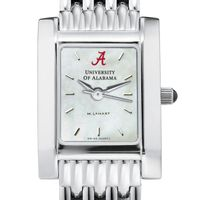 Alabama Women's Mother of Pearl Quad Watch with Bracelet