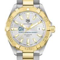 George Washington Men's TAG Heuer Two-Tone Aquaracer