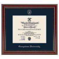Georgetown Fidelitas Diploma Frame