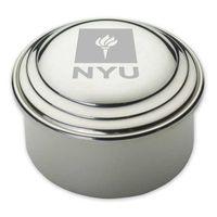 NYU Pewter Keepsake Box
