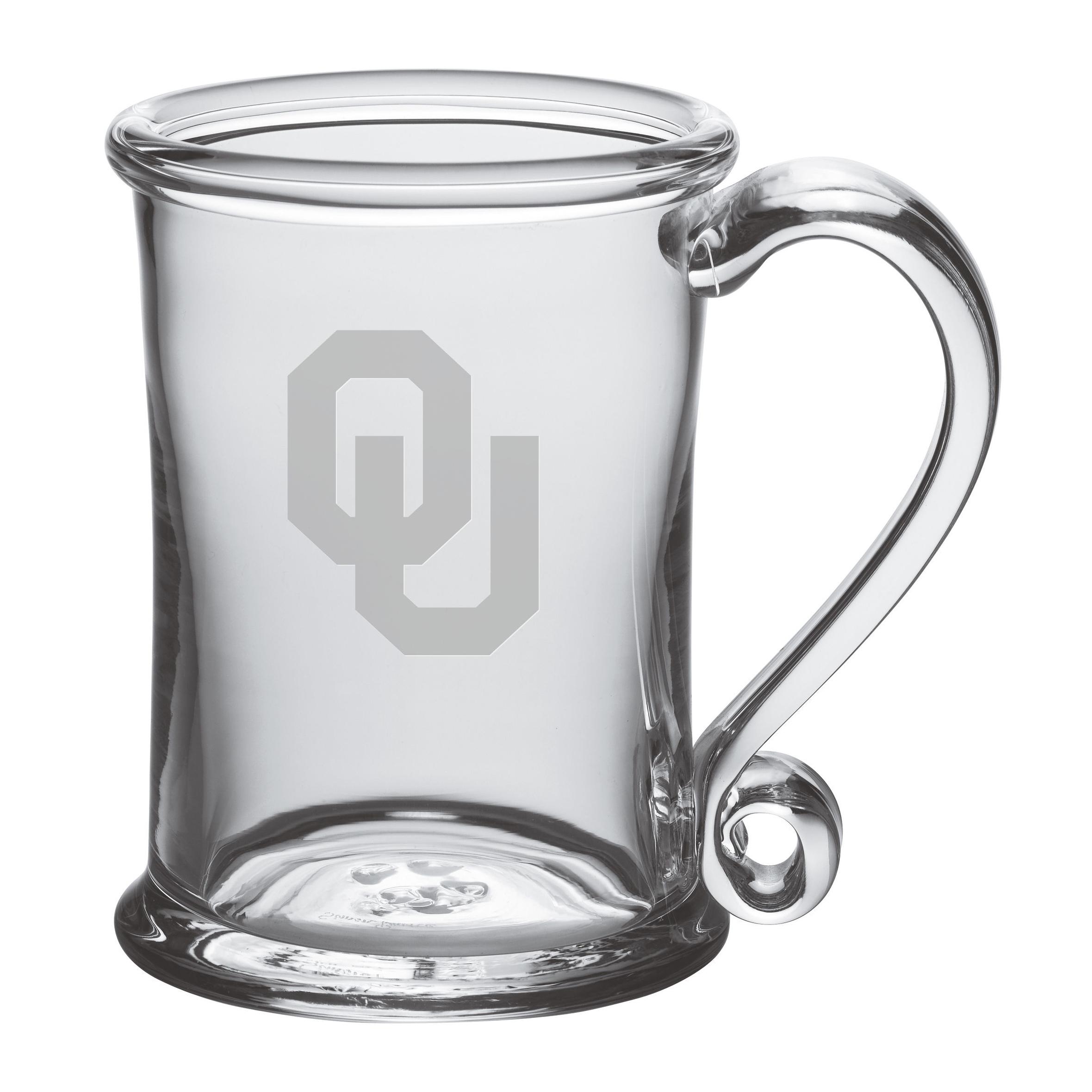 Oklahoma Glass Tankard by Simon Pearce