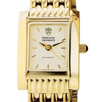 Princeton Women's Gold Quad Watch with Bracelet