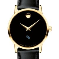 Coast Guard Academy Women's Movado Gold Museum Classic Leather