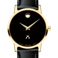 VMI Women's Movado Gold Museum Classic Leather