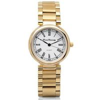 Brown Women's Classic Watch with Bracelet