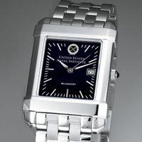 USNI Men's Black Quad Watch with Bracelet