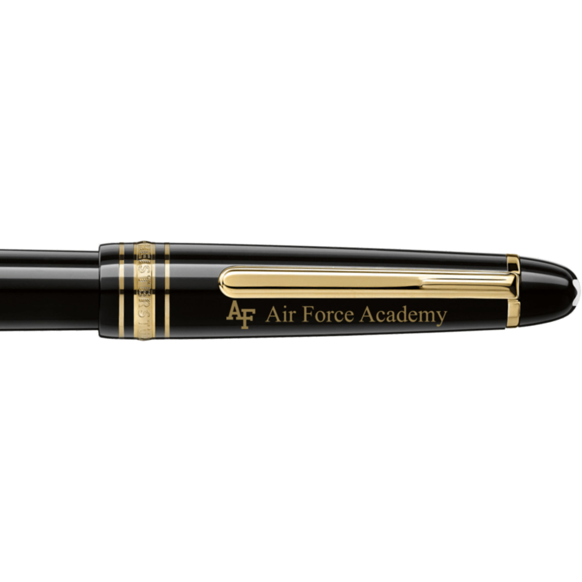 US Air Force Academy Montblanc Meisterstück Classique Fountain Pen in Gold
