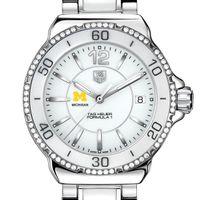 Michigan Women's TAG Heuer Formula 1 Ceramic Diamond Watch