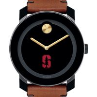 Stanford Men's Movado BOLD with Brown Leather Strap