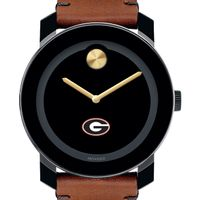 Georgia Men's Movado BOLD with Brown Leather Strap