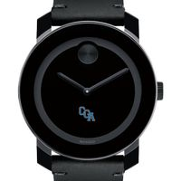 USCGA Men's Movado BOLD with Leather Strap
