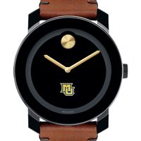 Marquette Men's Movado BOLD with Brown Leather Strap