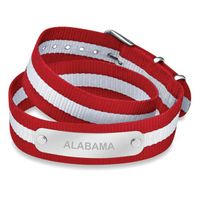 Alabama Double Wrap NATO ID Bracelet