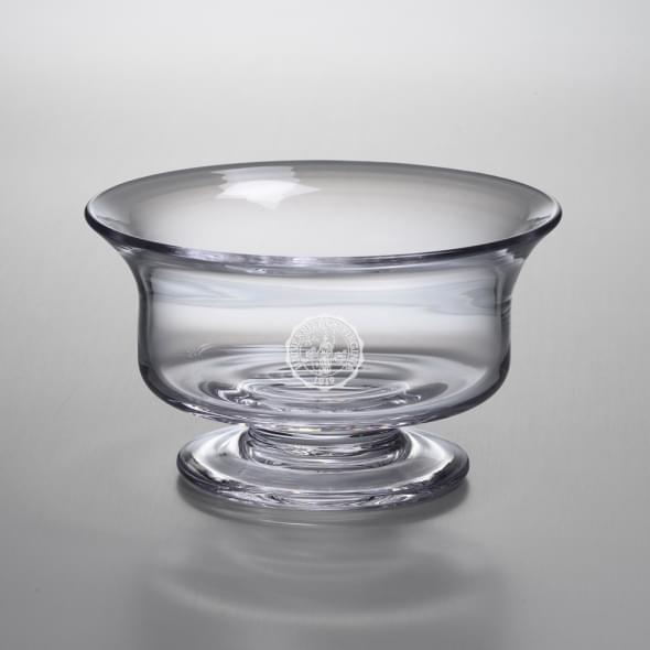 UVA Medium Glass Presentation Bowl by Simon Pearce