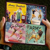 West Point Army Football Marble Coasters