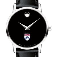 Wharton Women's Movado Museum with Leather Strap