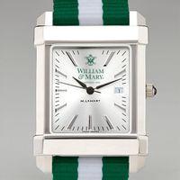 William & Mary Men's Collegiate Watch w/ NATO Strap