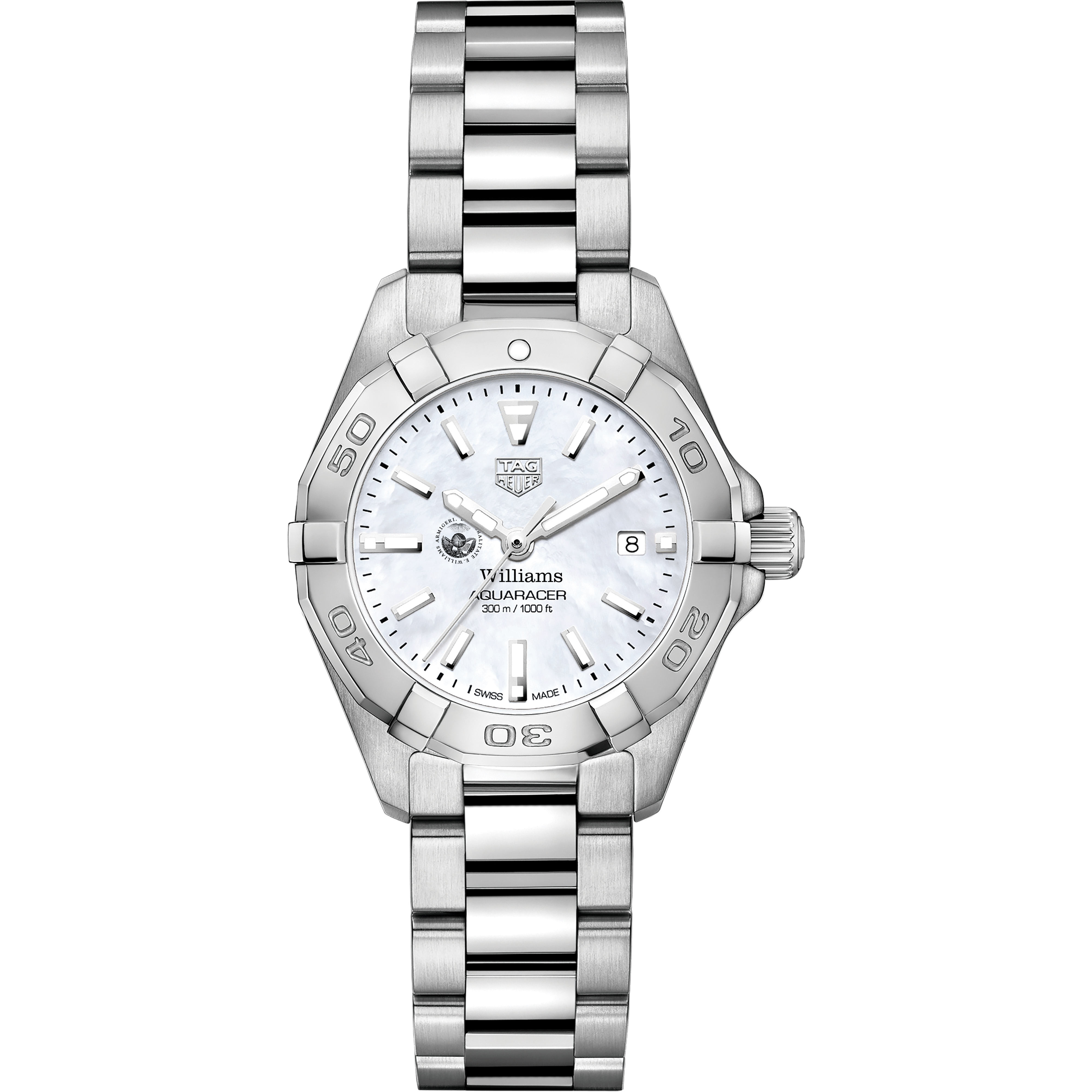 Williams College Women's TAG Heuer Steel Aquaracer with MOP Dial