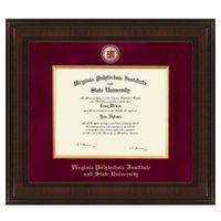 Virginia Tech Postgraduate Excelsior Diploma Frame