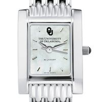 Oklahoma Women's Mother of Pearl Quad Watch with Bracelet