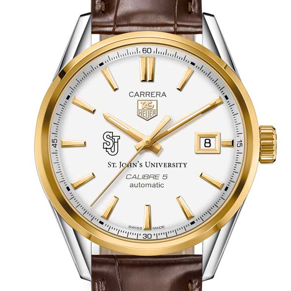 St. John's Men's TAG Heuer Two-Tone Carrera with Strap