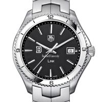 Bucknell TAG Heuer Men's Link Watch with Black Dial