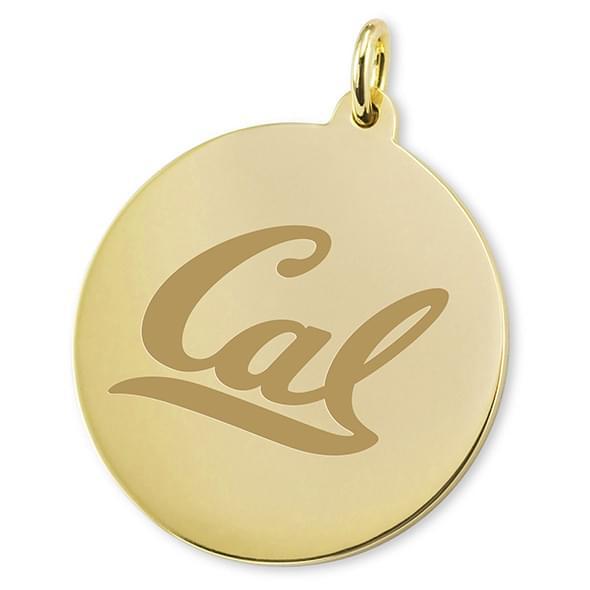 Berkeley 18K Gold Charm