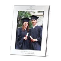 Cornell Polished Pewter 5x7 Picture Frame