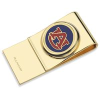 Auburn University Enamel Money Clip
