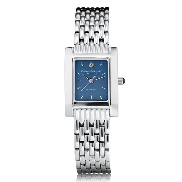 VMI Women's Blue Quad Watch with Bracelet Image-2