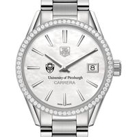 Pittsburgh Women's TAG Heuer Steel Carrera with MOP Dial & Diamond Bezel