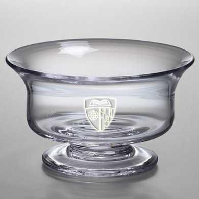 Johns Hopkins Large Glass Presentation Bowl by Simon Pearce